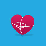 Heart Wrapped String Royalty Free Stock Photography