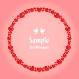 Heart Wreath Stock Photo
