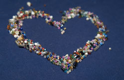 Heartbeads Image stock