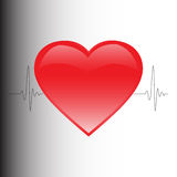 The heartbeat Royalty Free Stock Photography