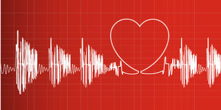Heartbeat Royalty Free Stock Photos