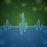 heartbeat illustration stock