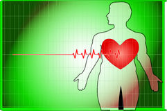 Heartbeat royalty free stock photography