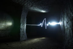 heartbeat immagine stock