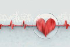 Heartbeat concept Stock Photos