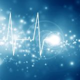 Heartbeat on display Royalty Free Stock Photography