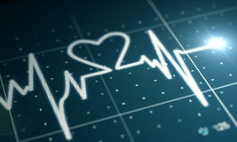 Heartbeat Monitor Stock Images