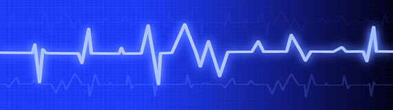 heartbeat monitor Royalty Free Stock Photography