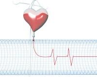 heartbeats illustrazione vettoriale