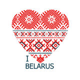 Heartbelarus Stock Image