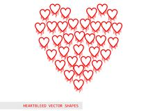 Heartbleed openssl bug vector pattern Stock Photography