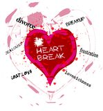 Heartbreak Royalty Free Stock Photography