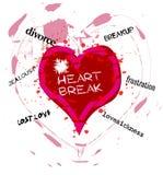 Heartbreak Royalty Free Stock Photography
