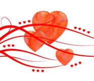 Heartbreak station. Heart for  valentines day or another situation Royalty Free Stock Photo