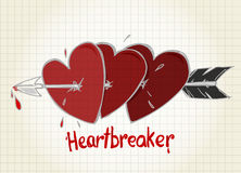 Heartbreaker Royalty Free Stock Images
