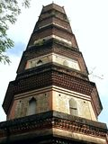 The tower on the West Lake tells a story of love that happened more than 1000 years ago royalty free stock image