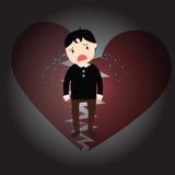 Heartbroken Stock Photography
