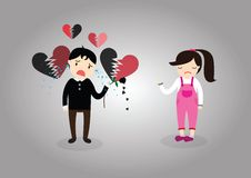 Heartbroken Stock Image