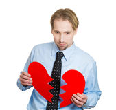 Heartbroken Royalty Free Stock Photography
