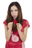 Heartbroken woman Stock Photo