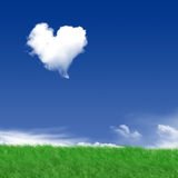 heartcloud Стоковое Изображение RF
