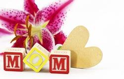 Heartfelt Feelings for Mom Royalty Free Stock Photo