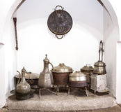 Hearth and Cookware Royalty Free Stock Images