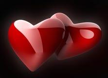 hearth czarny symbol Zdjęcie Royalty Free