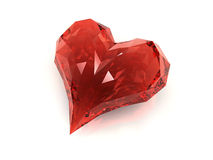 Hearth diamond Stock Photography