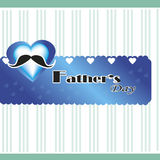 Hearth fathers day Stock Image