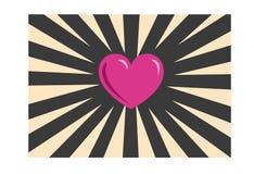 Hearth ilustracyjny symbol na tle Obrazy Royalty Free