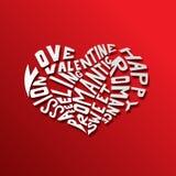 Hearth miłości pojęcie Zdjęcie Stock