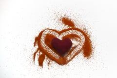 Hearth Stock Photo