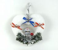 hearth ornamentu kształt Zdjęcia Royalty Free
