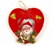 hearth ornamentuje czerwień Obrazy Royalty Free