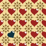 Hearth pattern Royalty Free Stock Photos