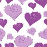 Hearth wzór Zdjęcia Royalty Free