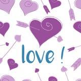 Hearth wzór Zdjęcie Royalty Free