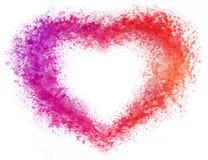 Hearthand-сделанная картина акварели Стоковые Изображения RF