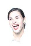 heartly śmiech Zdjęcia Stock