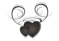Hearts stock illustration