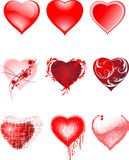 Hearts. Stock Photos