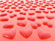 Hearts. (see more in my portfolio Royalty Free Stock Photo