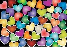 Free Hearts Royalty Free Stock Photography - 17935377