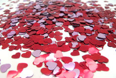 Hearts. Shallow Depth of Field Royalty Free Stock Photography