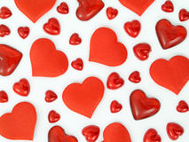 Hearts. Background Royalty Free Stock Images