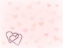 Hearts. Valentine Hearts stock illustration