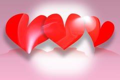 Hearts. Valentines stock image