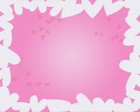 Hearts. Background vector illustration