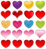 Hearts stock photos